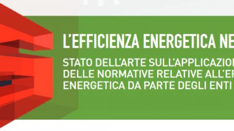 Efficienza energetica nei Comuni. Uno studio del CNI