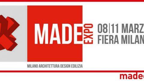 MADE Expo 2017 a Fiera Milano Rho 8-11 marzo