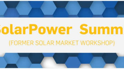 SolarPower Summit, 7-8 marzo 2017 a Bruxelles