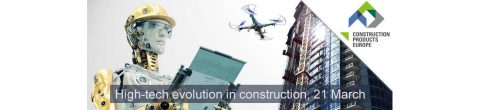 Evento High-tech Evolution in Construction a Bruxelles
