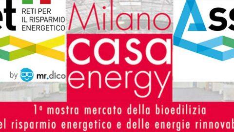 Asset a Milano Casa Energy, 24 – 26 marzo 2017, Parco Esposizioni Novegro