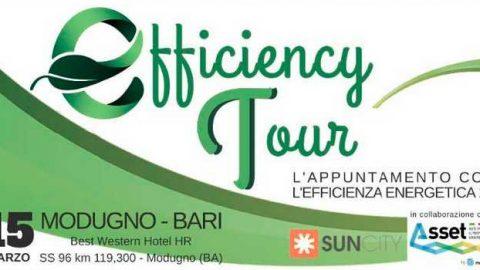 Asset a Bari per Efficiency Tour, 15 marzo 2017