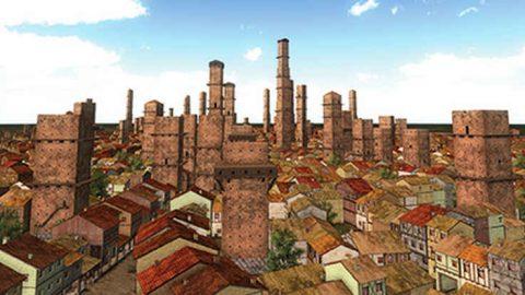 La macchina del tempo a Bologna: realtà virtuale applicata alla storia dell'urbanistica