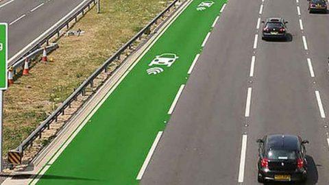 ElectRoad, la strada che ricarica le batterie senza fili
