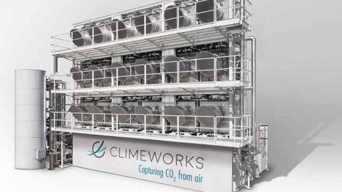 Climeworks AG cattura la CO2 atmosferica