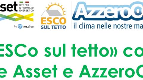 Esco sul Tetto con Rete Asset e Azzero CO2, meeting a Bologna, 19 e 20 gennaio 2018