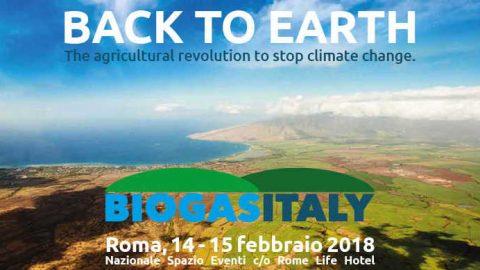 Biogas Italy 2018, Roma, 14-15 febbraio 2018