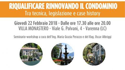 Apericene di febbraio con Condominio Solution a Lecco e a Milano