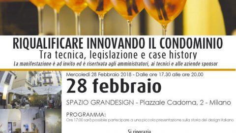 Apericena con il mondo del condominio, Milano, 28 febbraio
