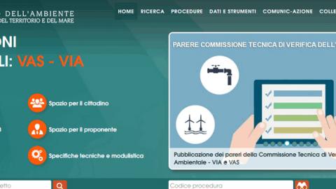 On line il nuovo portale VAS e VIA