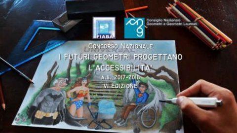 Concorso nazionale: I futuri geometri progettano l'accessibilità.