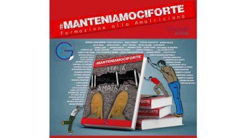 #Manteniamociforte, presentazione del libro, Roma, 13 aprile 2018.
