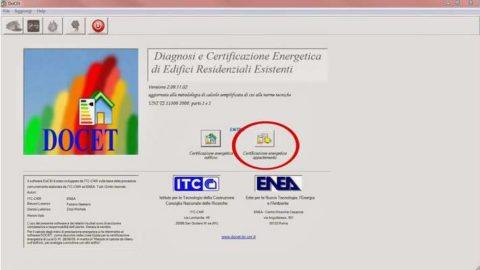 DOCET v.3.18.04.50, software gratuito per redazione APE