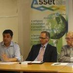Stefano Mazzetti (Responsabile Nazionale Ambiente Partito Democretico e Sindaco di Sasso Marconi), Massimo Bolzicco (Direttore Generale Civiesco), Gianangelo Vacchetti (Rete Asset)