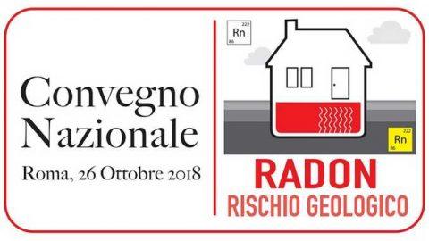 Convegno Radon Rischio Geologico, Roma, 26 ottobre 2018