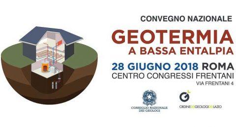 Geotermia a Bassa Entalpia, convegno a Roma, 28 giugno 2018