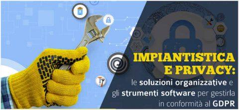 Impiantistica e privacy, Bari, 3 luglio 2018, con mr.dico