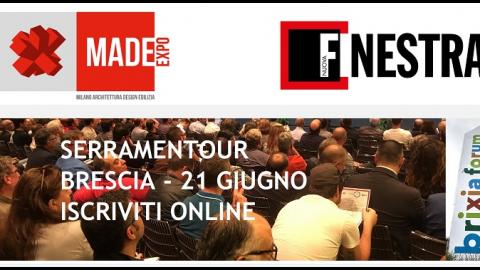 Serramentour, Brescia, 21 giugno 2018