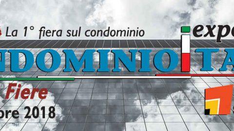 CondominioItalia Expo 2018, Bologna, 17 – 20 ottobre 2018