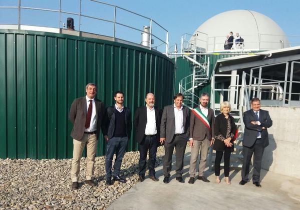 Impianto biogas bi-stadio Italia Soliera (Modena)