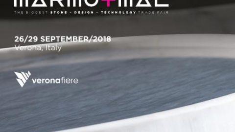 Marmomac 2018, Verona, 26 – 29 settembre 2018.
