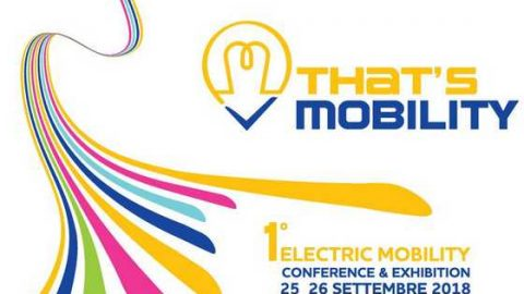 That's mobility 2018. Milano, 25 – 26 settembre 2018
