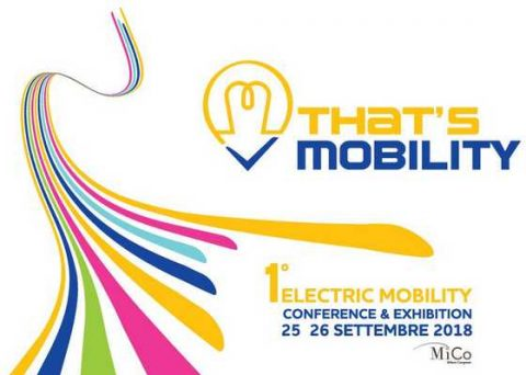 That's mobility 2018. Milano, 25 – 26 settembre 2018