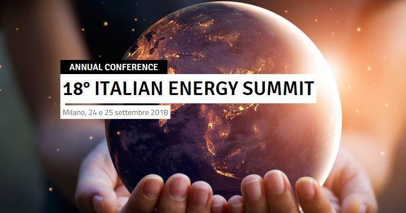 Italian Energy Summit 2018