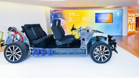 Volkswagen annuncia la piattaforma MEB per auto elettriche
