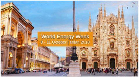 World Energy Week, Milano, 8 – 11 ottobre 2018