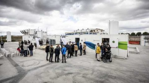 L'impianto Climeworks cattura la CO2 in Puglia