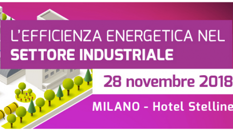 Conferenza Enermanagement industria 2018, Milano, 28 novembre 2018