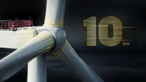 MHI Vestas ha presentato la prima turbina eolica disponibile in commercio da 10 megawatt
