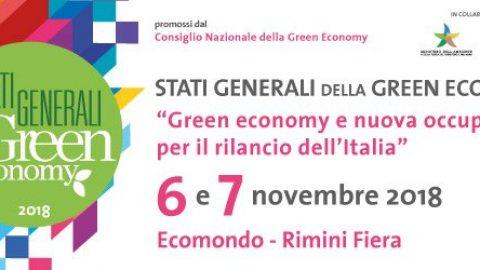 6 e il 7 novembre a Ecomondo gli Stati Generali della Green Economy 2018