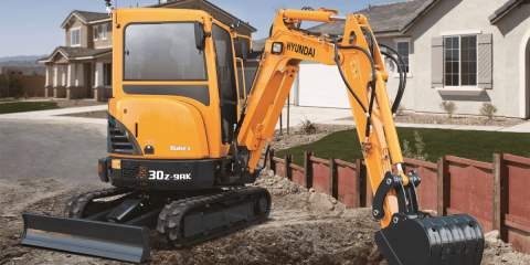 Escavatore elettrico da Hyundai Construction Equipment (HCE) e Cummins