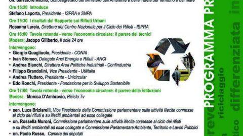 Presentazione  del  Rapporto Rifiuti Urbani 2018, Roma, 10 dicembre 2018