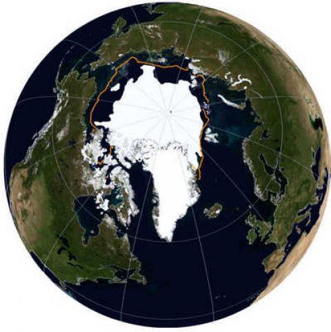 Le temperature superficiali dell'aria nell'Artico hanno continuato a riscaldarsi a un tasso doppio rispetto al resto del globo