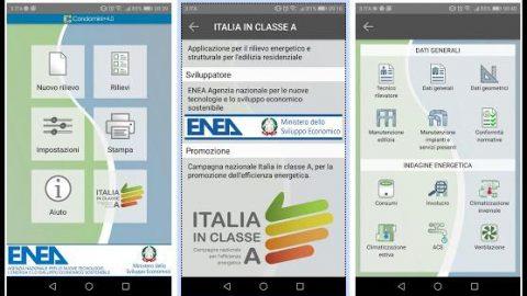 Condomini+4.0 l'app di ENEA per misurare i consumi energetici e le caratteristiche strutturali degli edifici