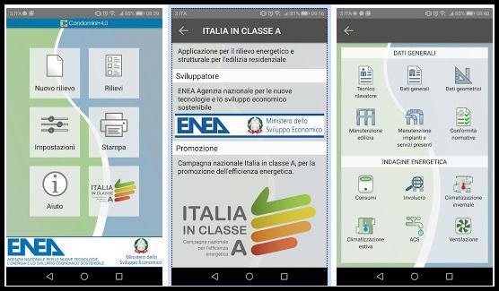 Condomini+4.0 app ENEA