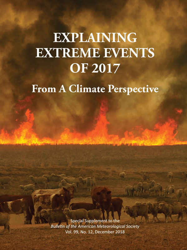 Explaining Extreme Events 2017 from a Climate Perspective