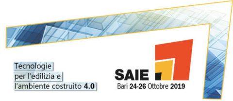 SAIE Bari, 24 – 26 ottobre 2019, Bari – Fiera del Levante