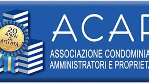 20 anni di ACAP. Convegno nazionale, Napoli, 16 febbraio 2019