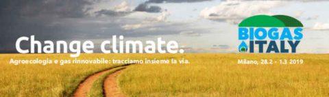 Biogas Italy 2019, Milano 28 febbraio – 1 marzo 2019