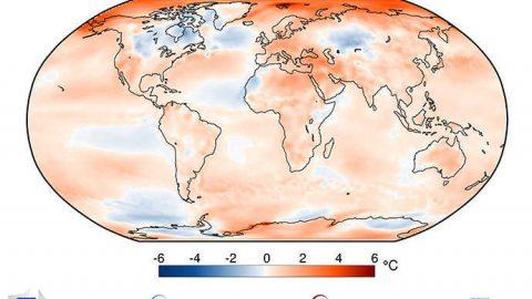 ECMWF: gli ultimi quattro anni sono stati i quattro più caldi mai registrati