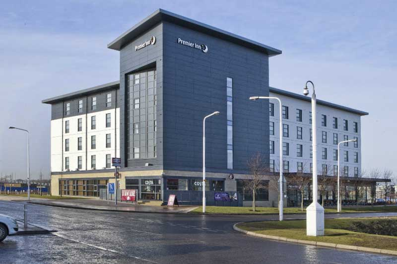 Hotel elettrico in Scozia