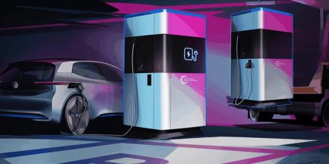 "Caricabatterie ""trasportabile"" per veicoli elettrici"