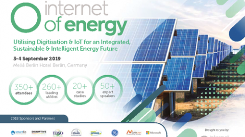 Internet of Energy 2019, Berlino, 3 – 4 settembre 2019