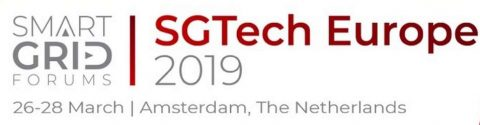 "SGTech Europe 2019 ""Smart Grid Innovation Project Exchange"", Amsterdam, 26 – 28 marzo 2019"