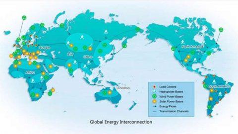 Interconnessione mondiale delle reti elettriche entro il 2050: il progetto Global Energy Interconnection (GEI)