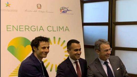 Presentato il Piano nazionale energia e clima